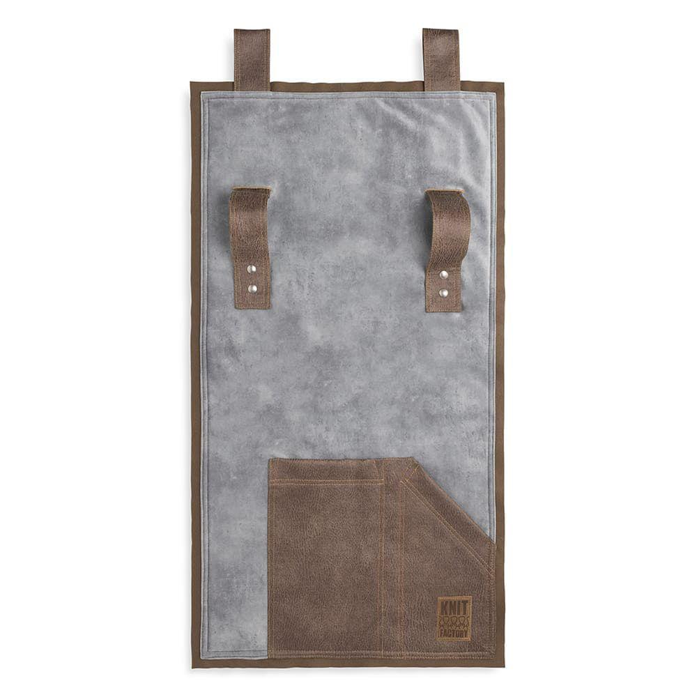 knit factory 1361011 dax pocket licht grijs 1