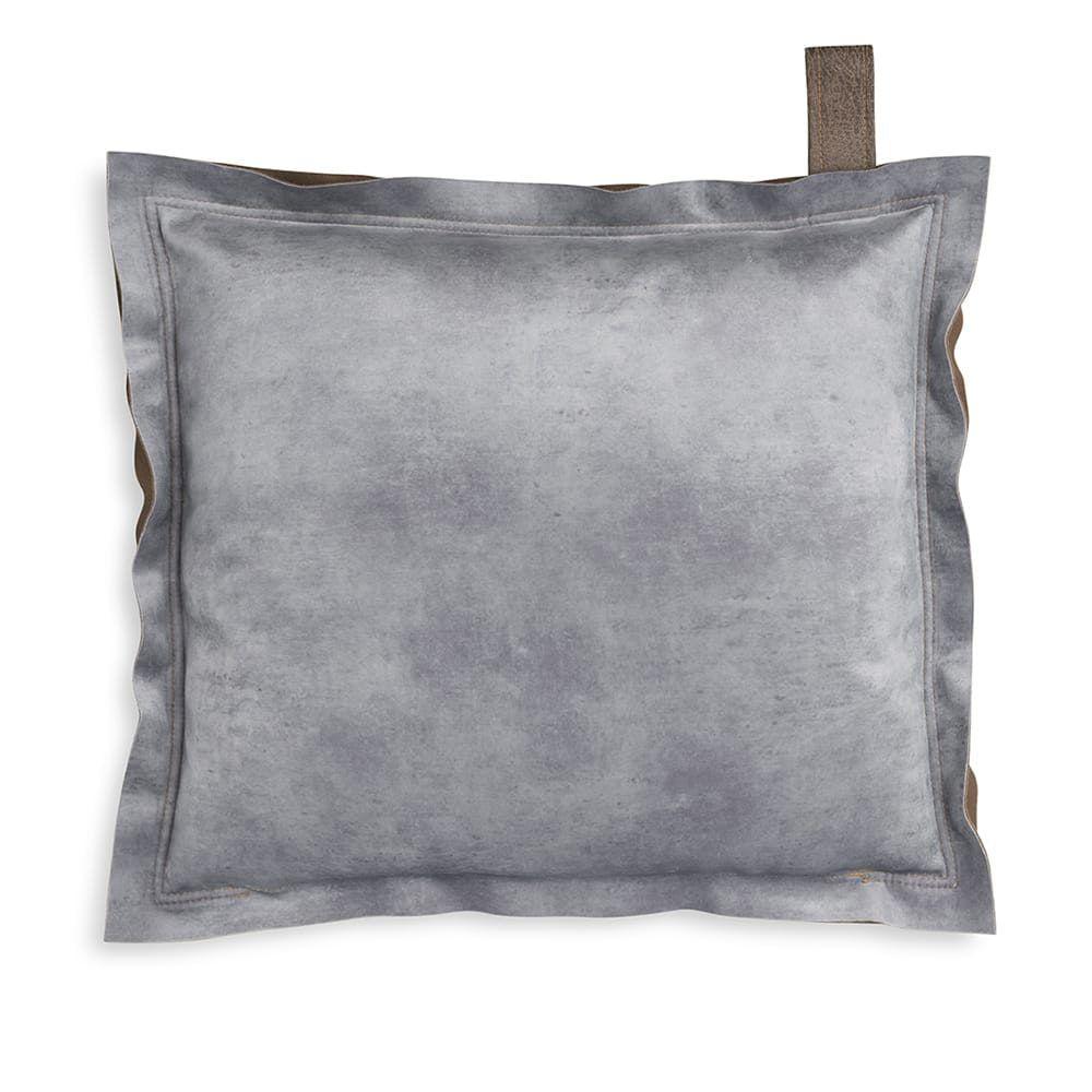 knit factory 1361211 dax kussen 50x50 licht grijs 2