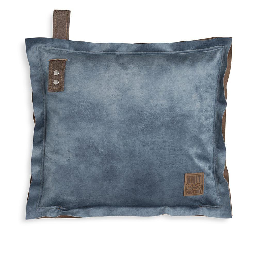 knit factory 1361213 dax kussen 50x50 jeans 1