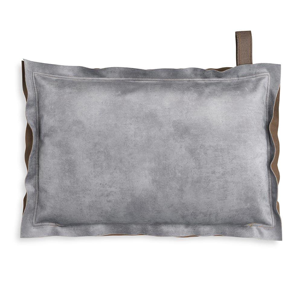 knit factory 1361311 dax kussen 60x40 licht grijs 2