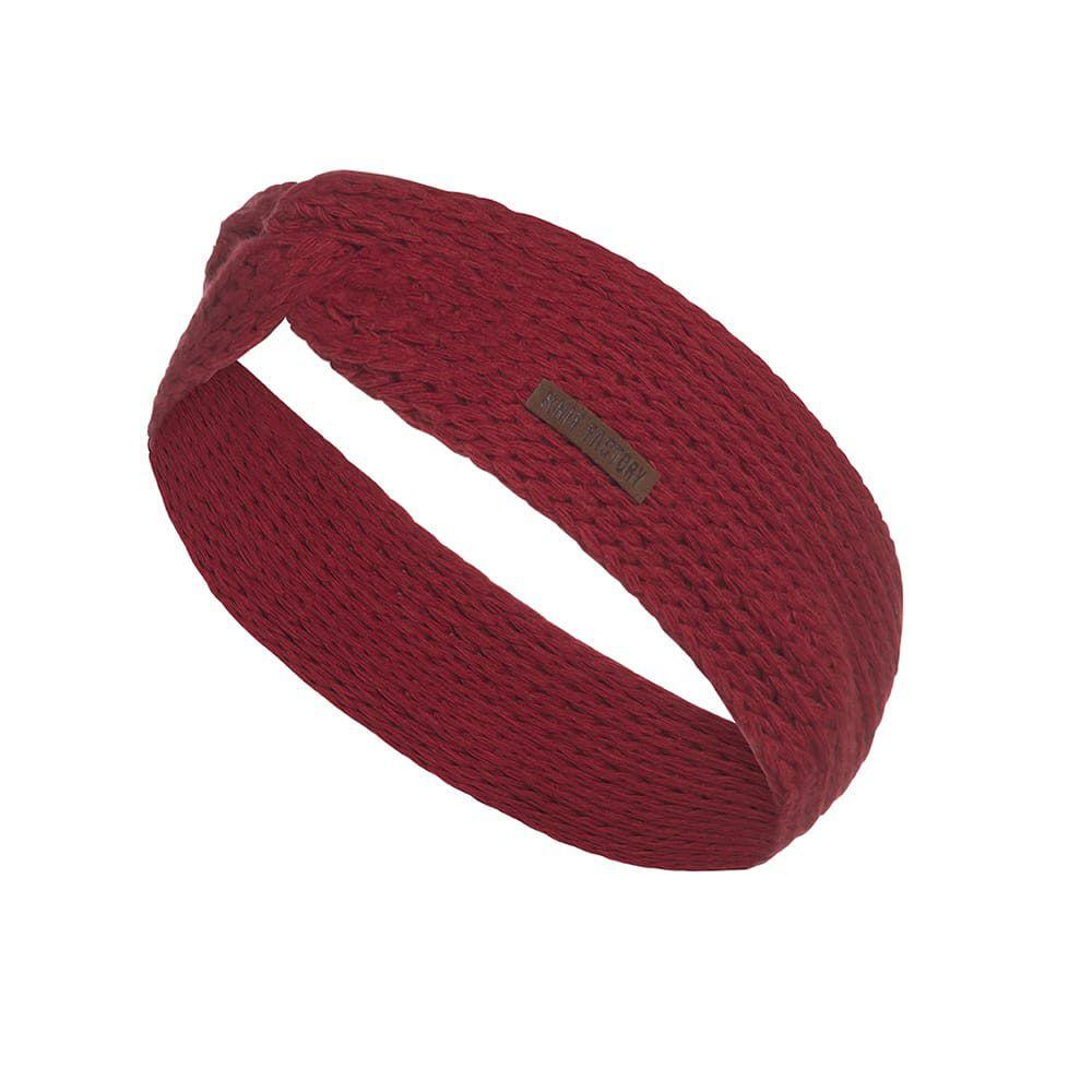knit factory 1376903 joy hoofdband bordeaux 1