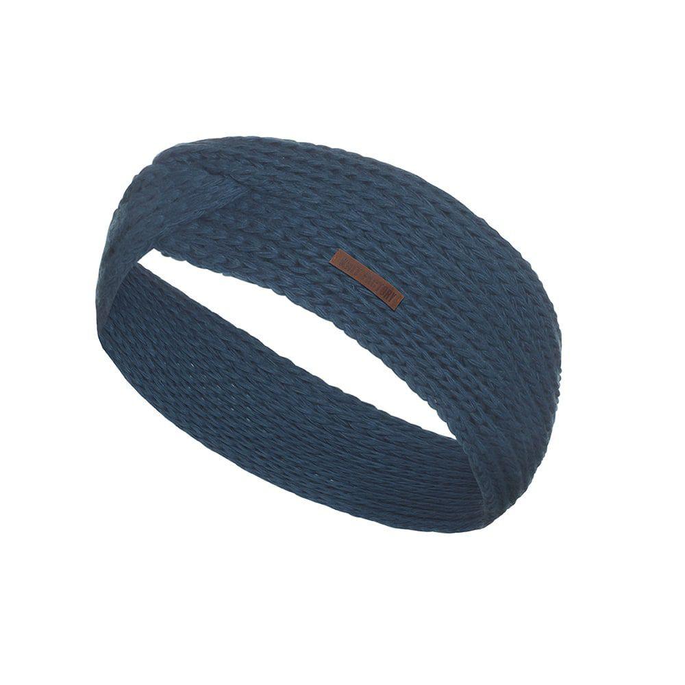 knit factory 1376908 joy hoofdband petrol 1