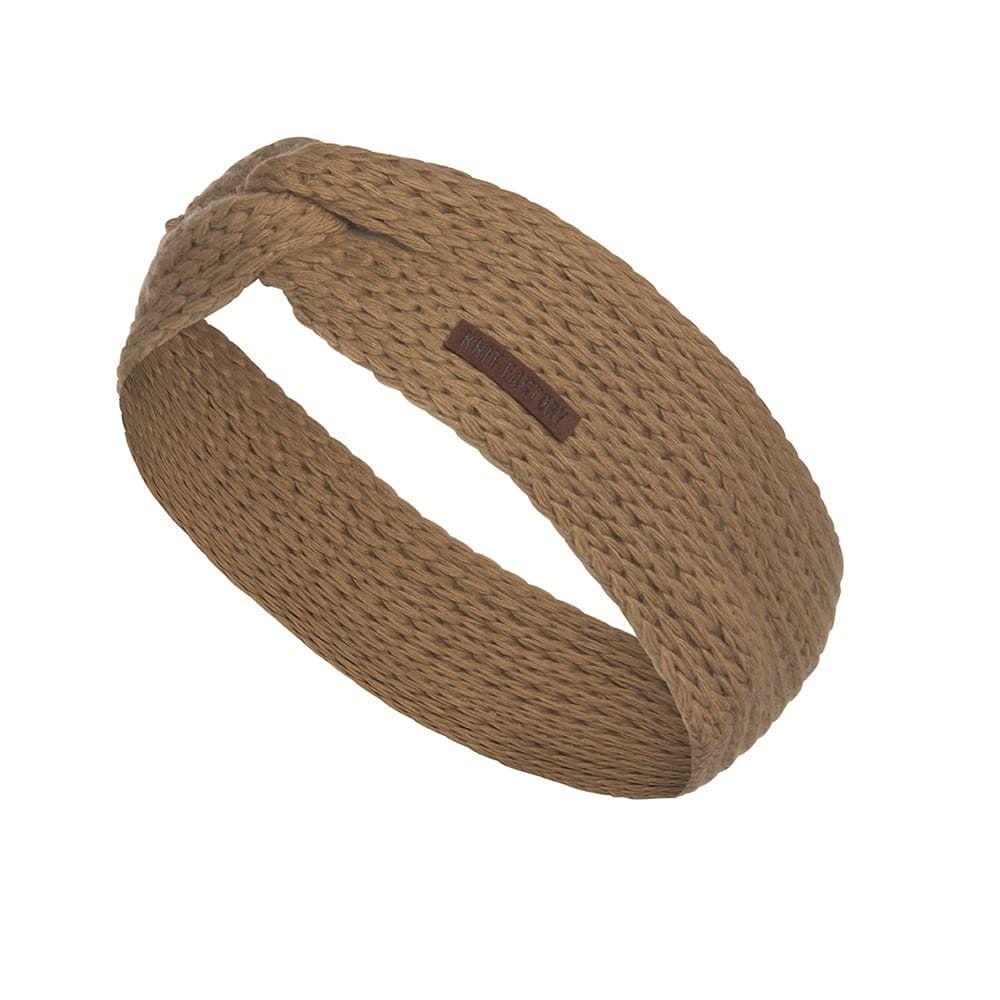 knit factory 1376920 joy hoofdband new camel 1
