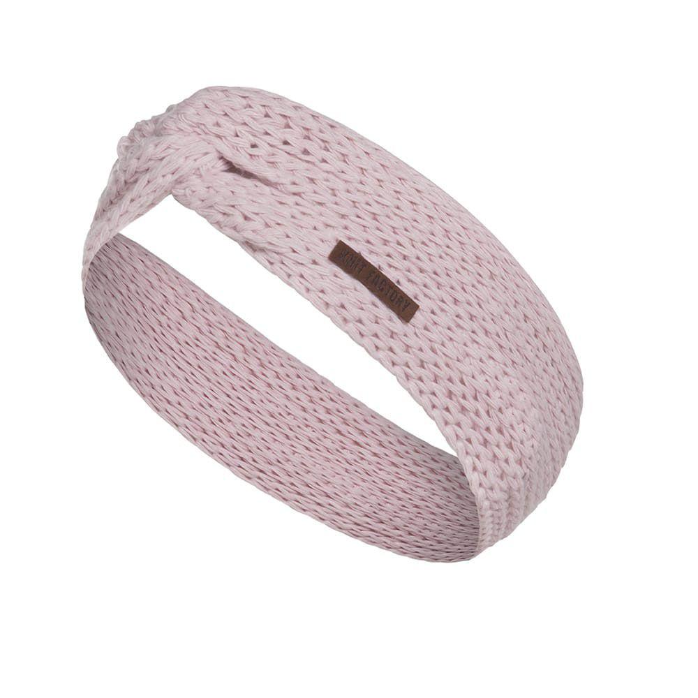 knit factory 1376921 joy hoofdband roze 1