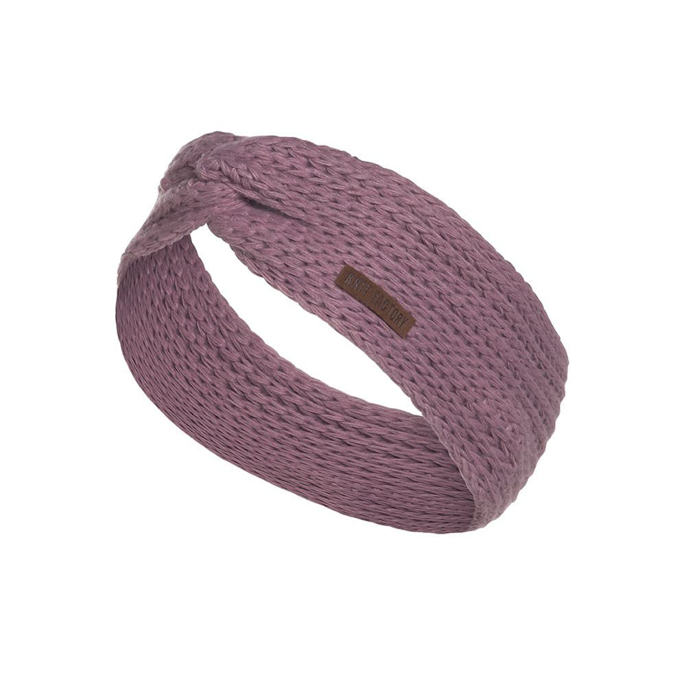 knit factory 1376927 joy hoofdband lila 1