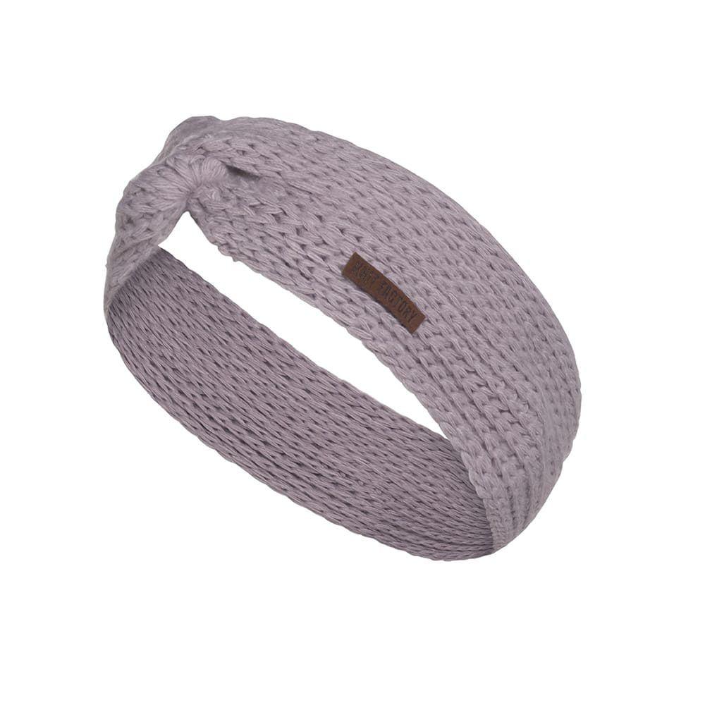 knit factory 1376934 joy hoofdband mauve 1
