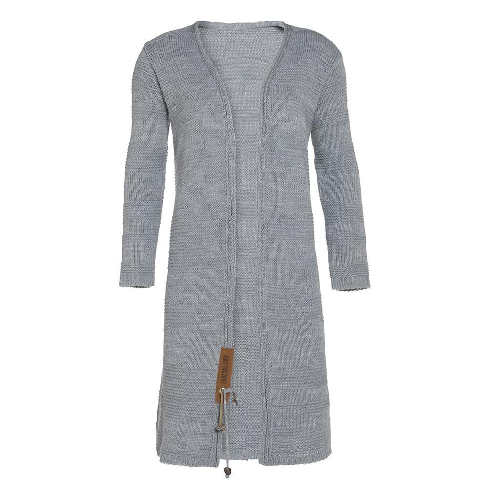 knit factory 1386311 sol vest 4042 licht grijs 1
