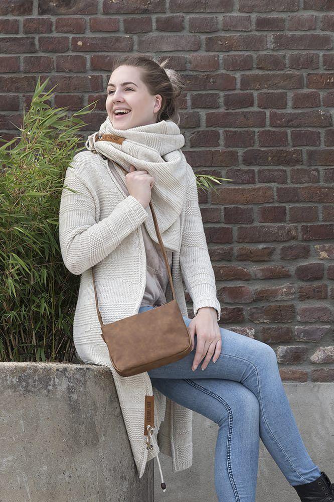 knit factory 1386312 sol vest 4042 beige 2