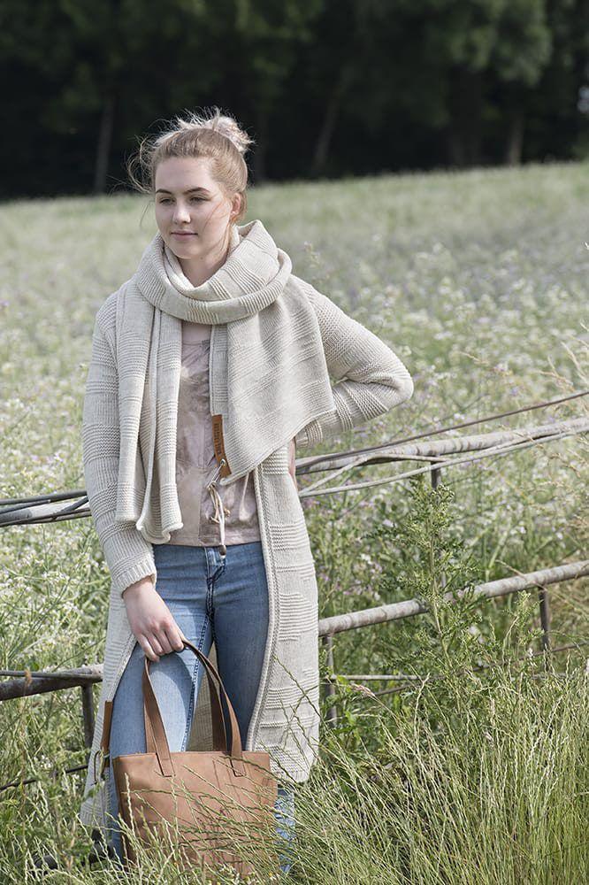 knit factory 1386312 sol vest 4042 beige 4