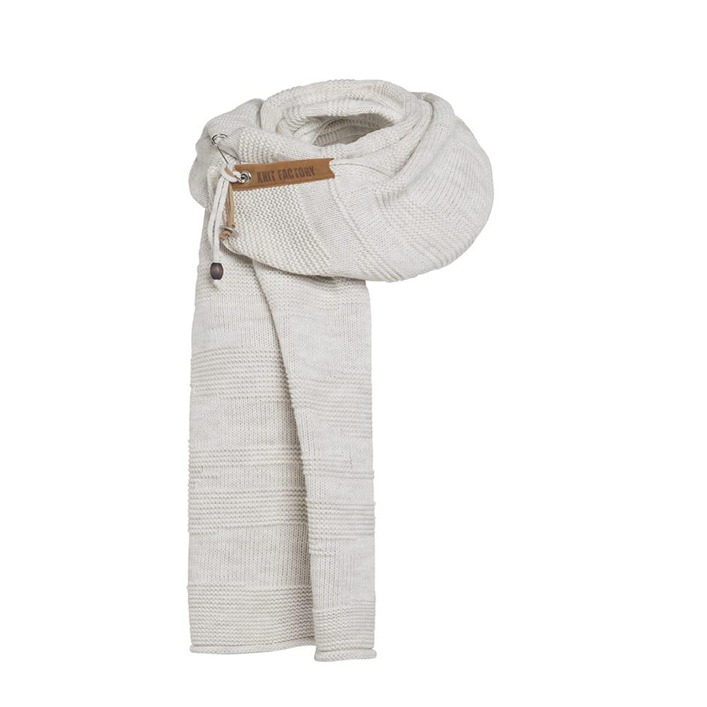 knit factory 1386512 sol sjaal beige 1