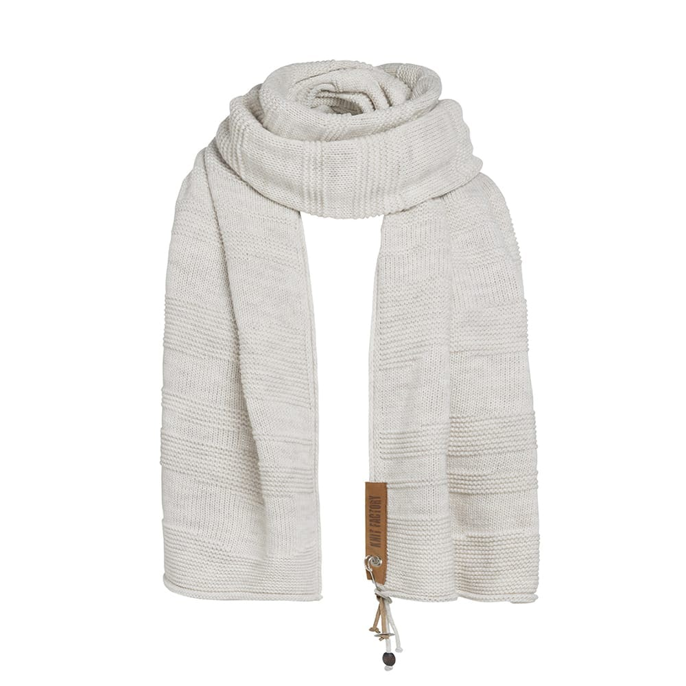 knit factory 1386512 sol sjaal beige 2