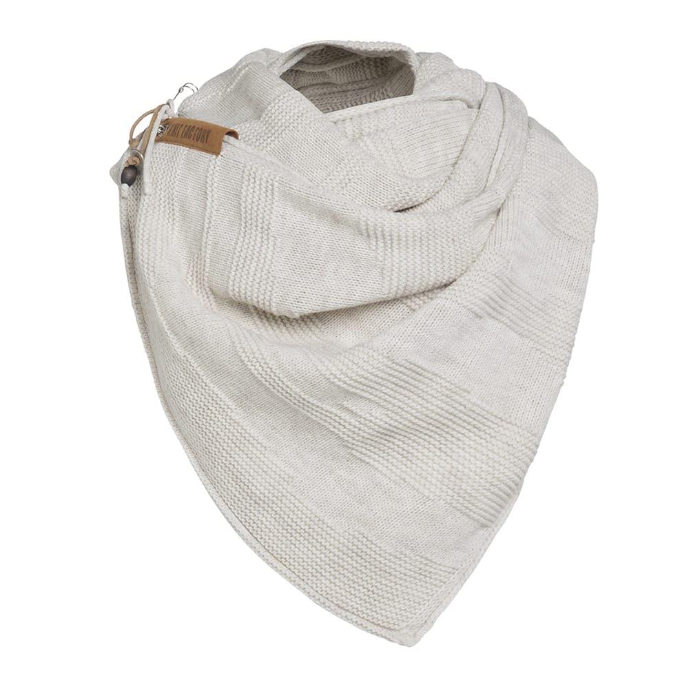 knit factory 1386512 sol sjaal beige 3
