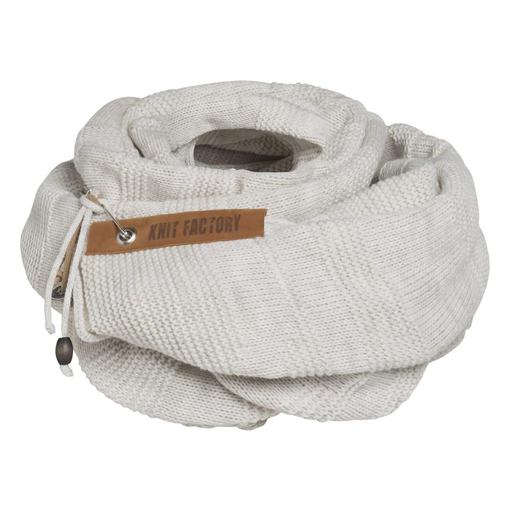 knit factory 1386512 sol sjaal beige 4