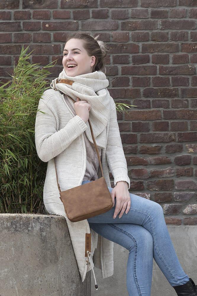 knit factory 1386512 sol sjaal beige 6