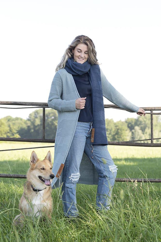 knit factory 1386513 sol sjaal jeans 9