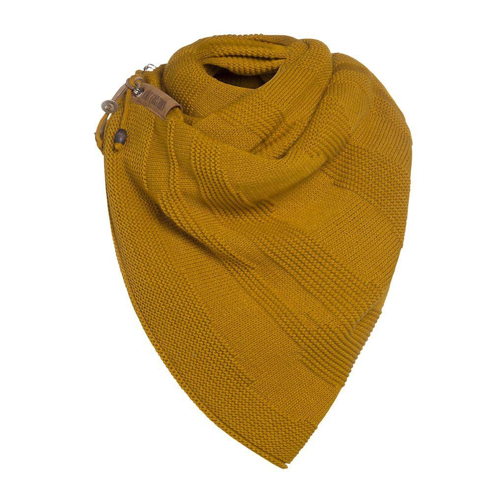 knit factory 1386517 sol sjaal oker 3