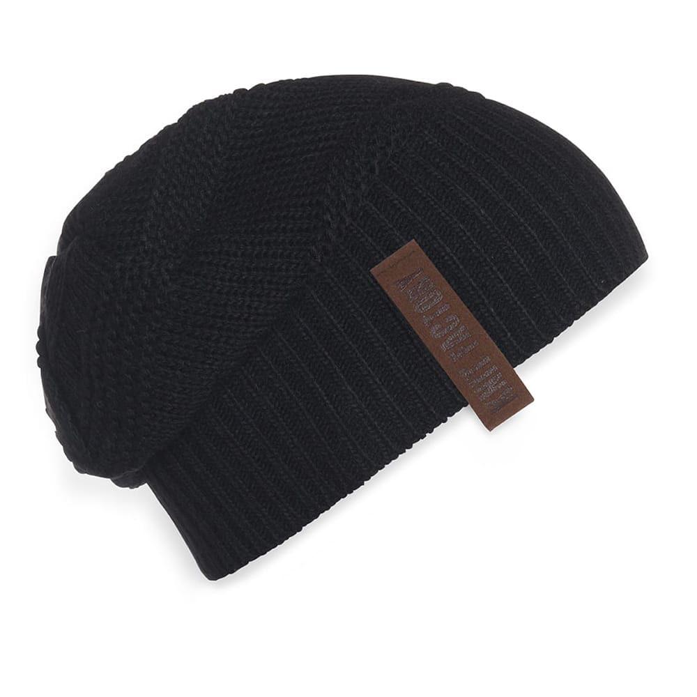 knit factory 1387000 sol beanie zwart 2