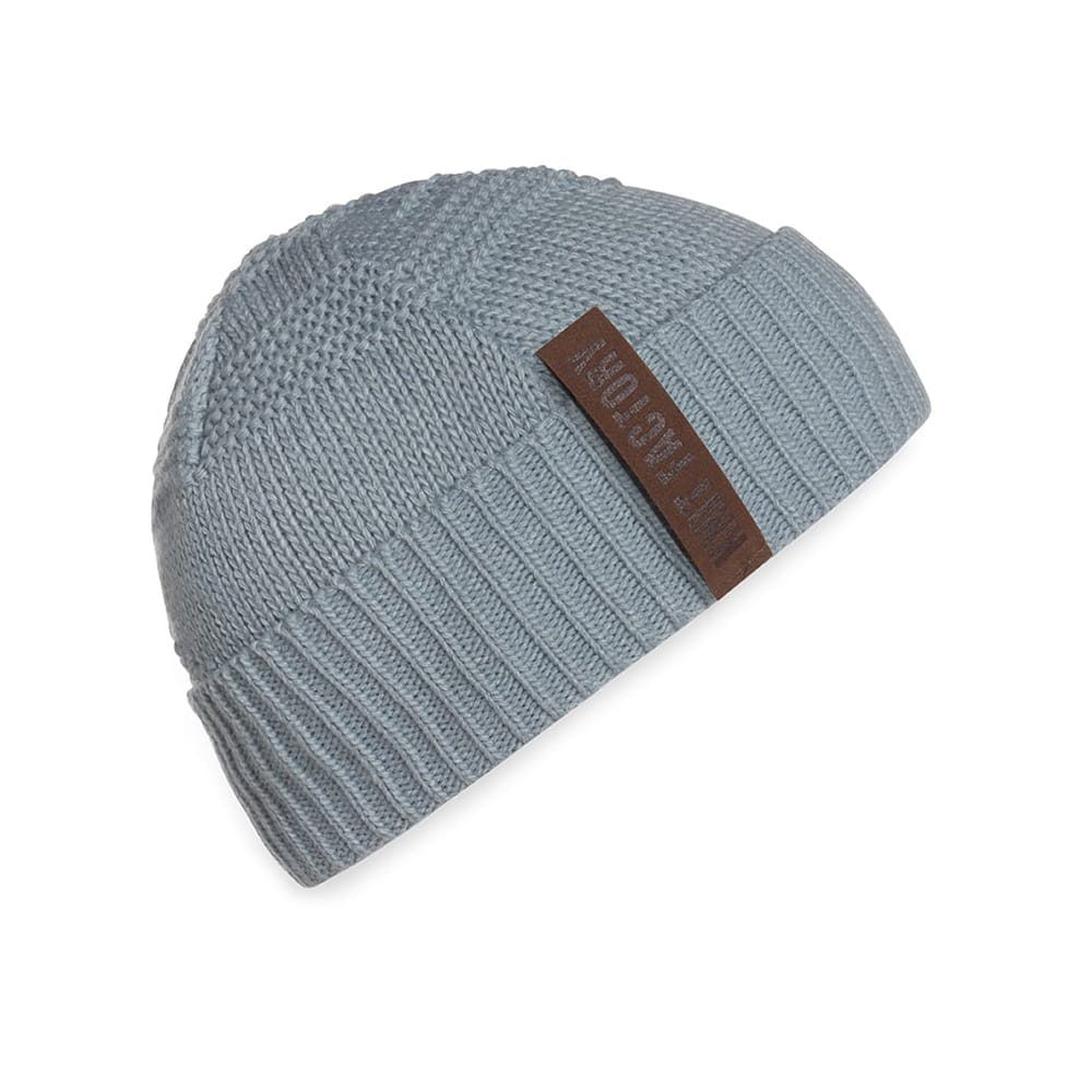 knit factory 1387009 sol beanie stone green 1