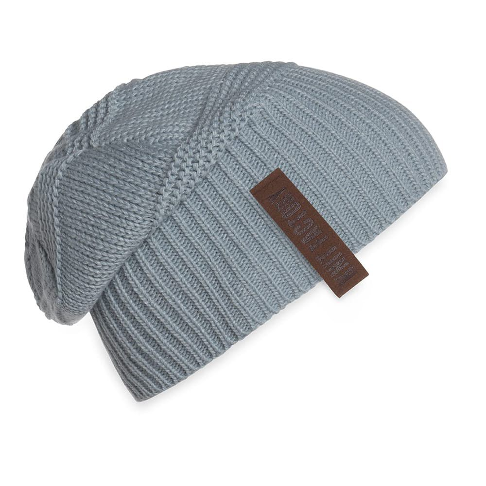 knit factory 1387009 sol beanie stone green 2
