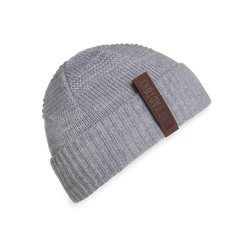 knit factory 1387011 sol beanie licht grijs 1