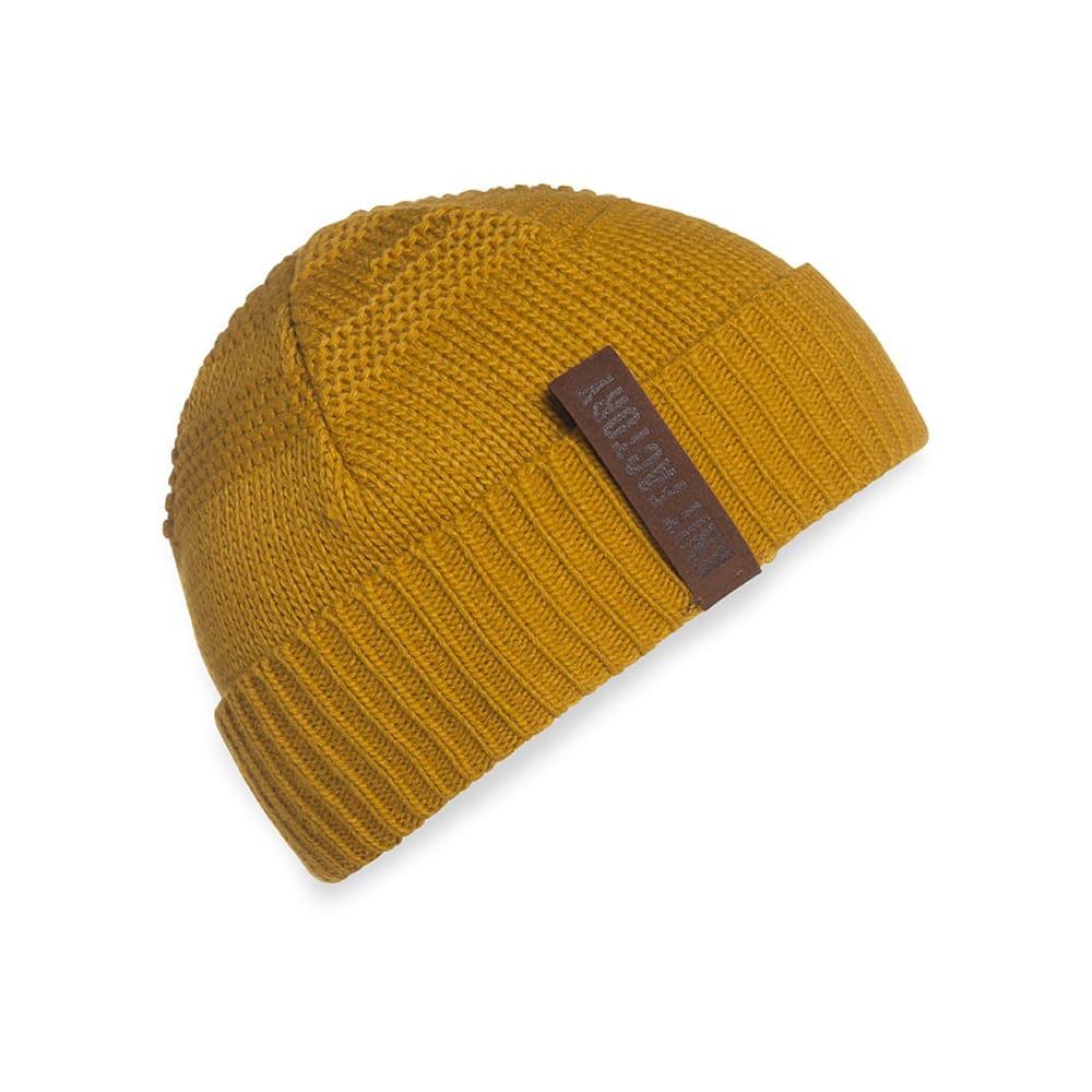 knit factory 1387017 sol beanie oker 1