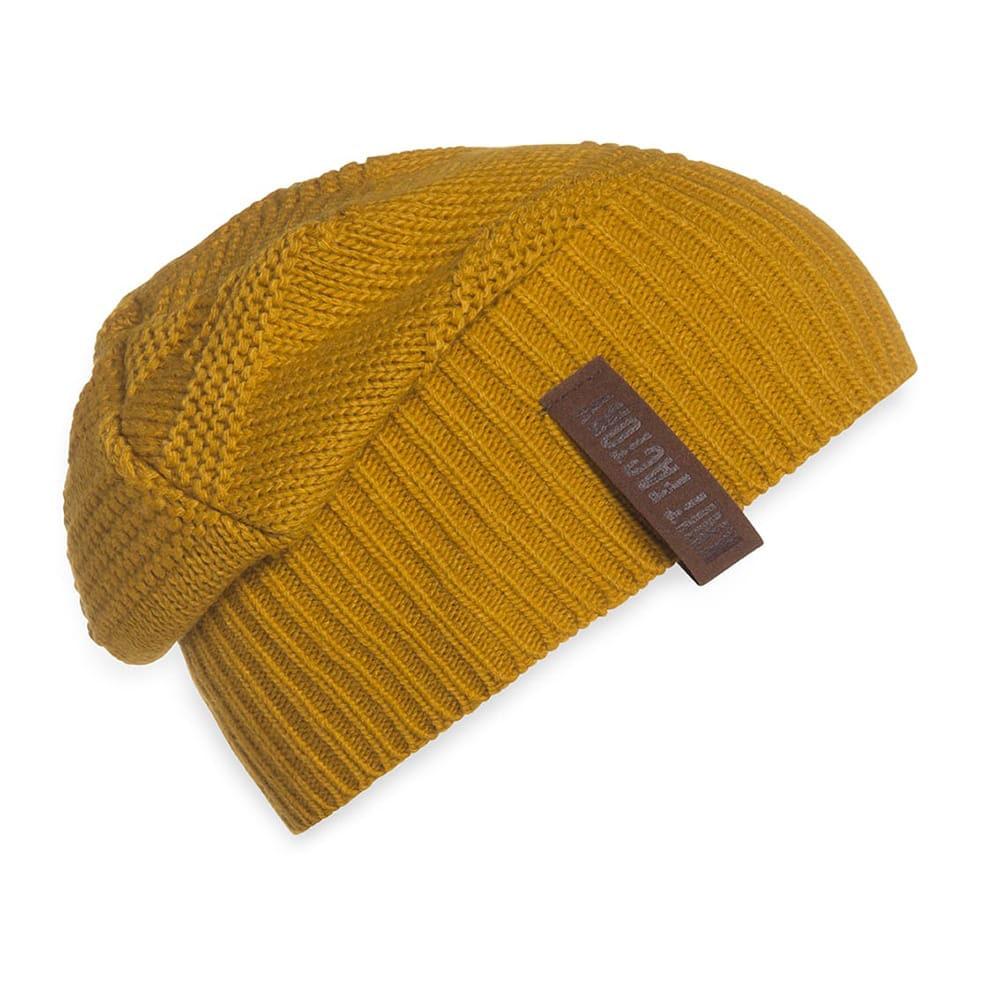 knit factory 1387017 sol beanie oker 2
