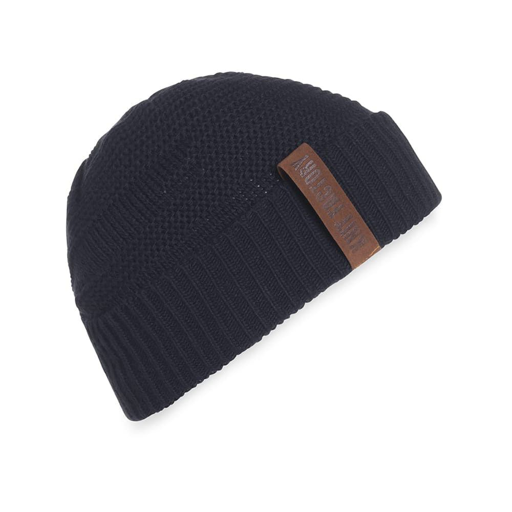 knit factory 1387026 sol beanie navy 1