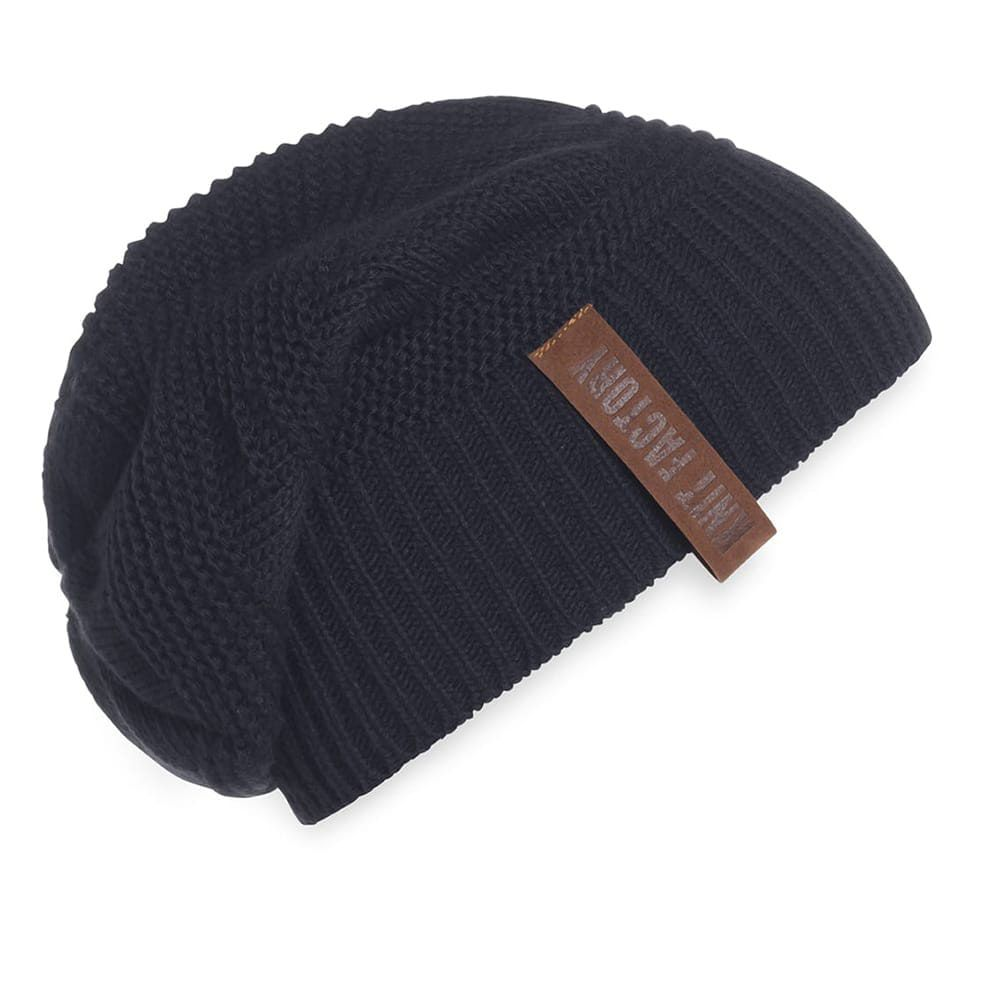knit factory 1387026 sol beanie navy 2