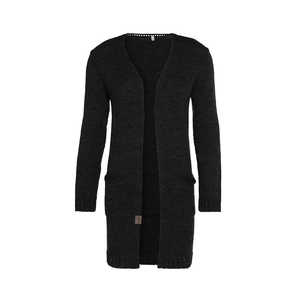 knit factory 1406200 ruby vest 3638 zwart 1