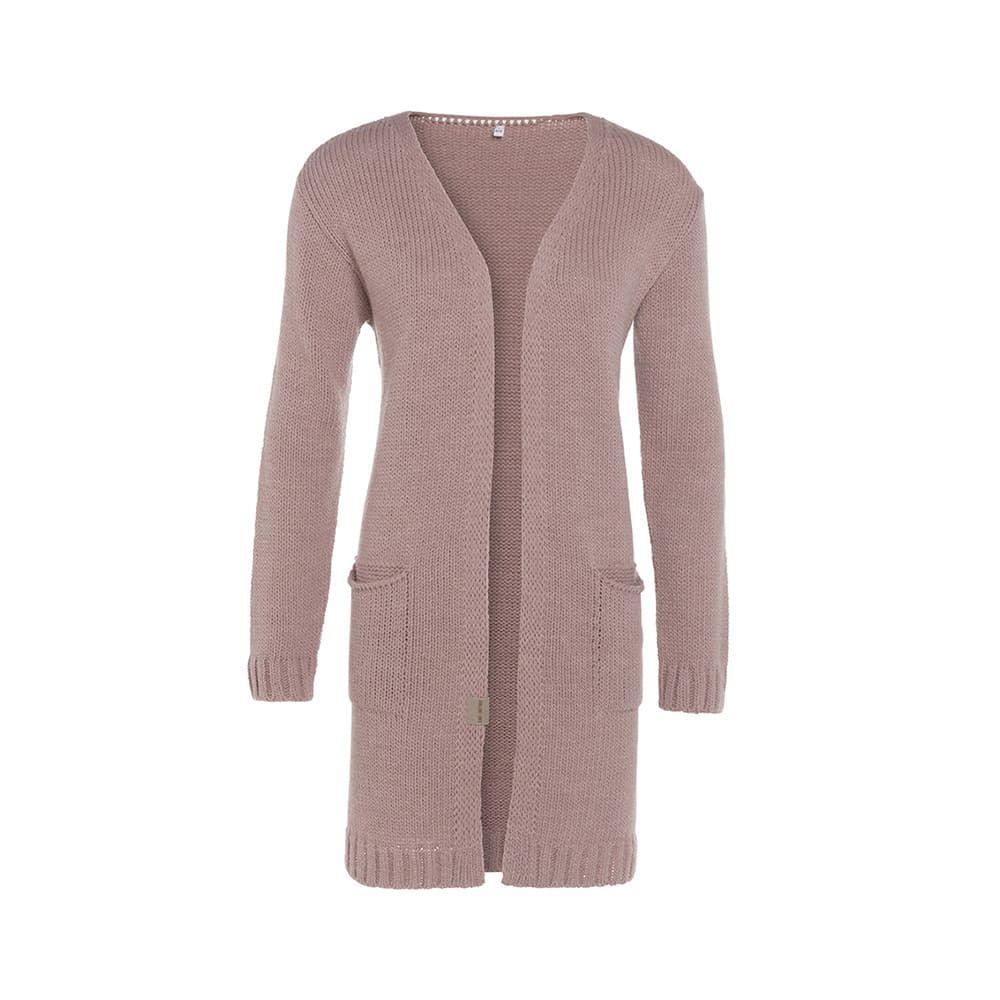 knit factory 1406222 ruby vest 3638 roze 1