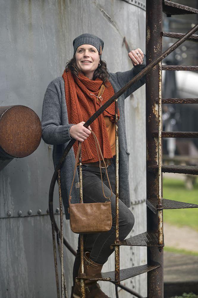 knit factory 1406310 ruby vest 4042 antraciet 5