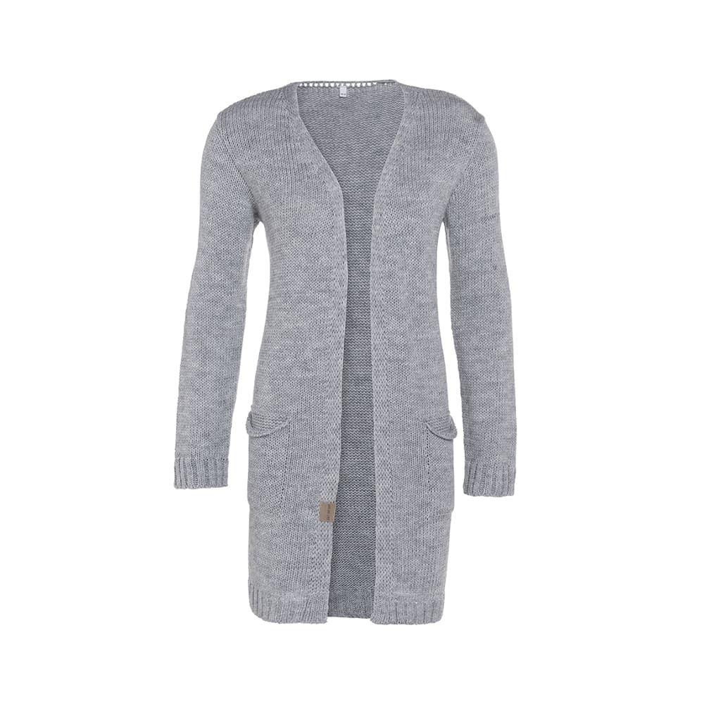knit factory 1406311 ruby vest 4042 licht grijs 1