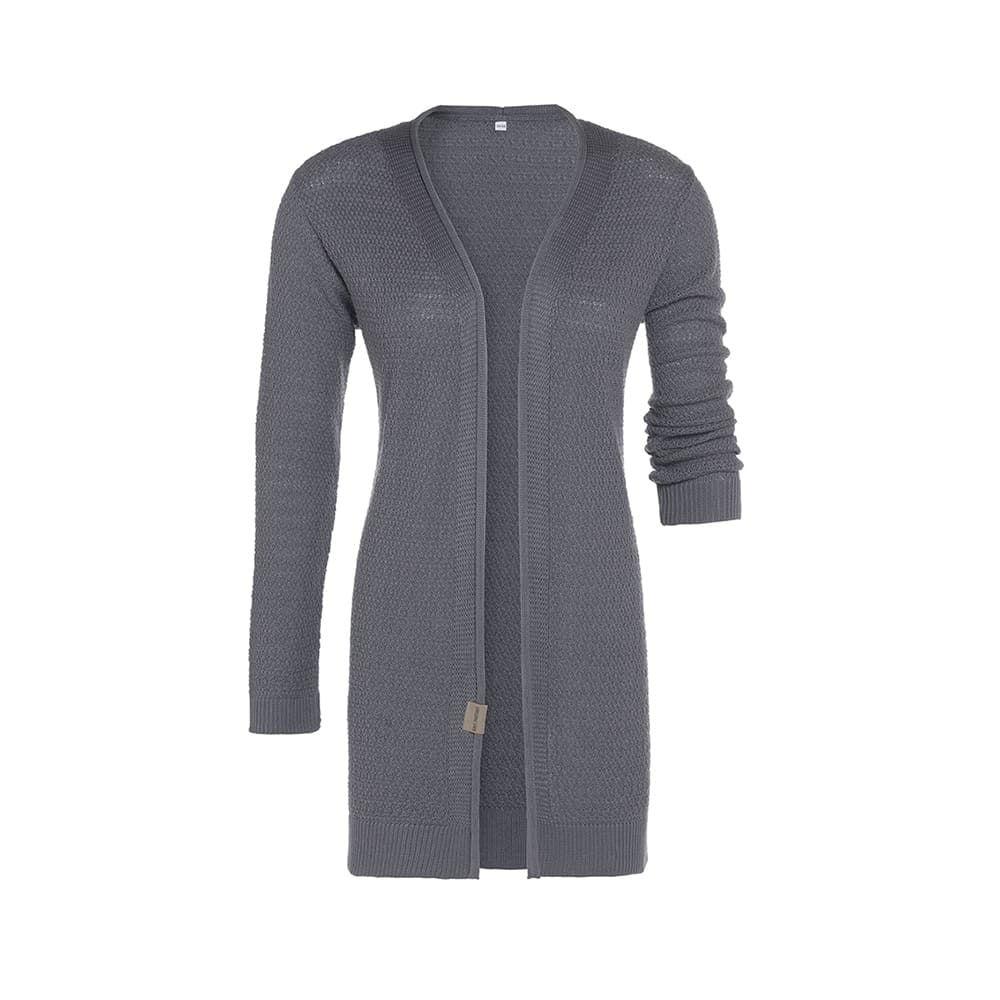 knit factory 1416306 june vest 4042 med grey 1