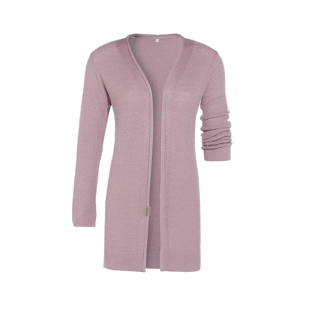 knit factory 1416322 june vest 4042 oud roze 1
