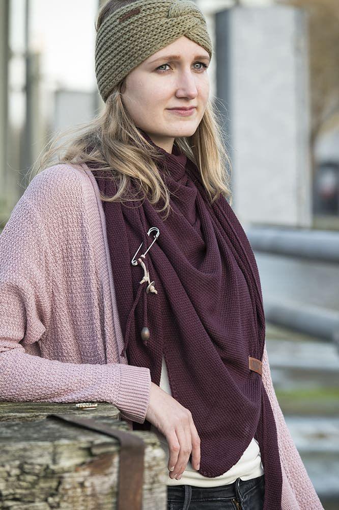 knit factory 1416322 june vest 4042 oud roze 3