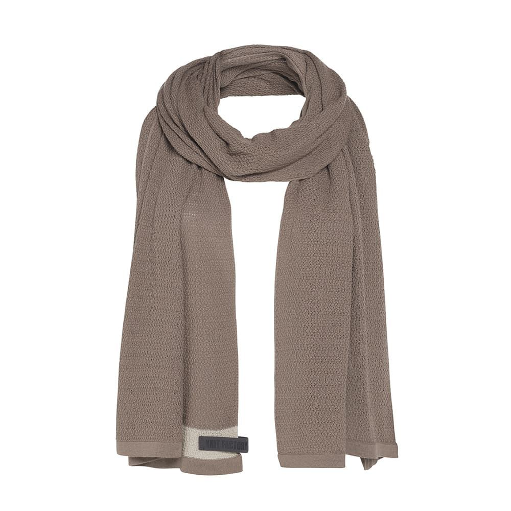 knit factory 1416520 june sjaal new camel 1