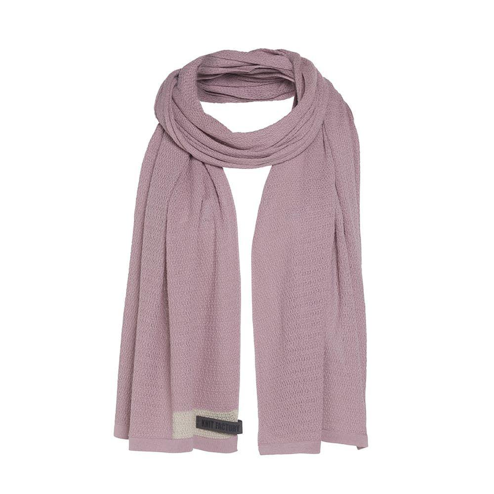 knit factory 1416522 june sjaal roze 1
