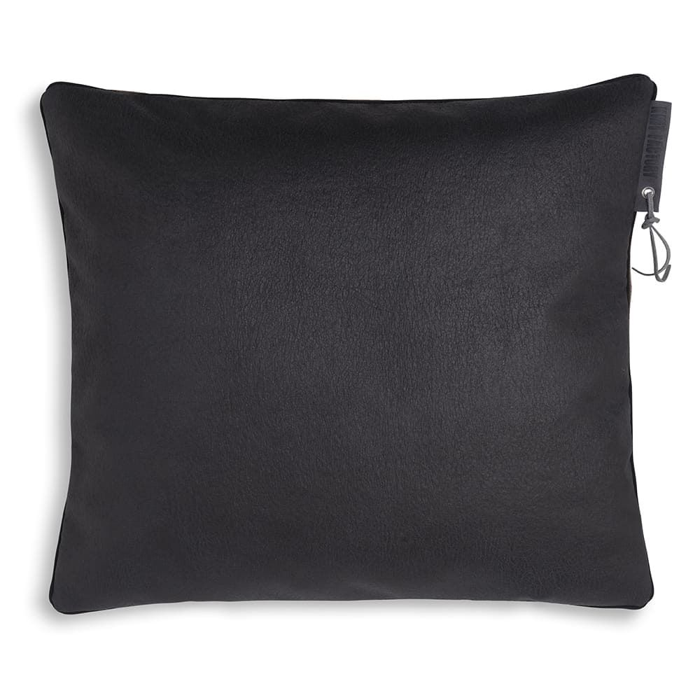 knit factory 1421210 james kussen 50x50 antraciet 2