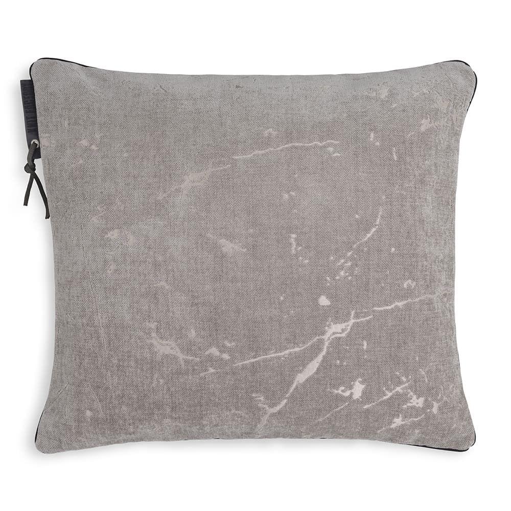 knit factory 1421211 james kussen 50x50 licht grijs 1