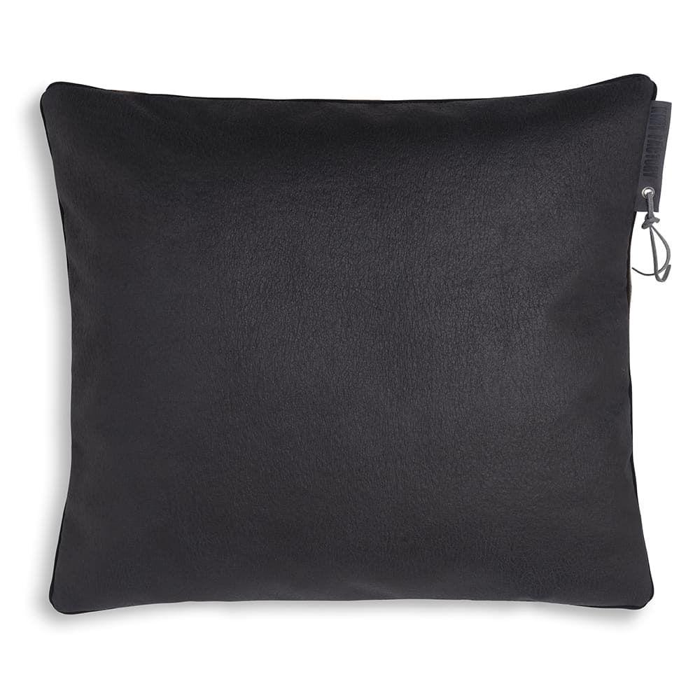 knit factory 1421211 james kussen 50x50 licht grijs 2