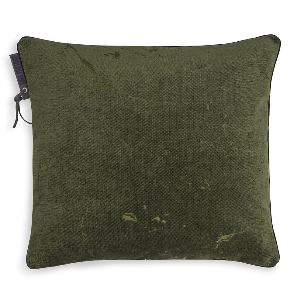 knit factory 1421214 james kussen 50x50 groen 1