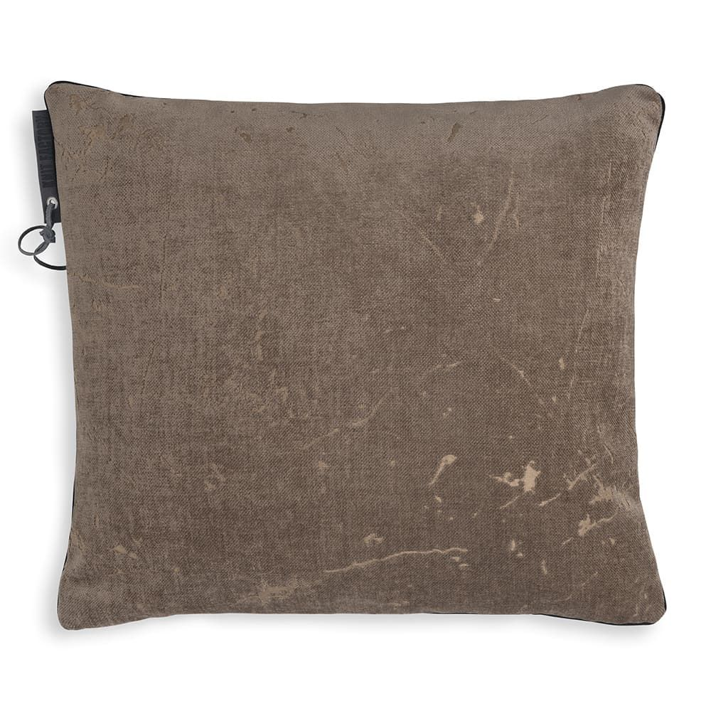 knit factory 1421229 james kussen 50x50 taupe 1