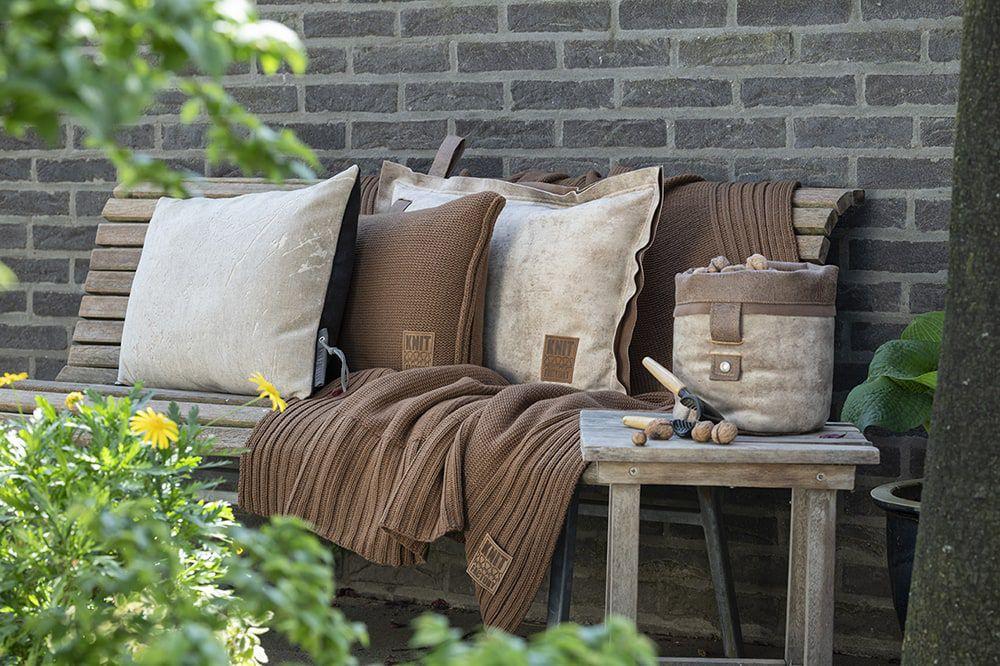 knit factory 1421312 james kussen 60x40 beige 6