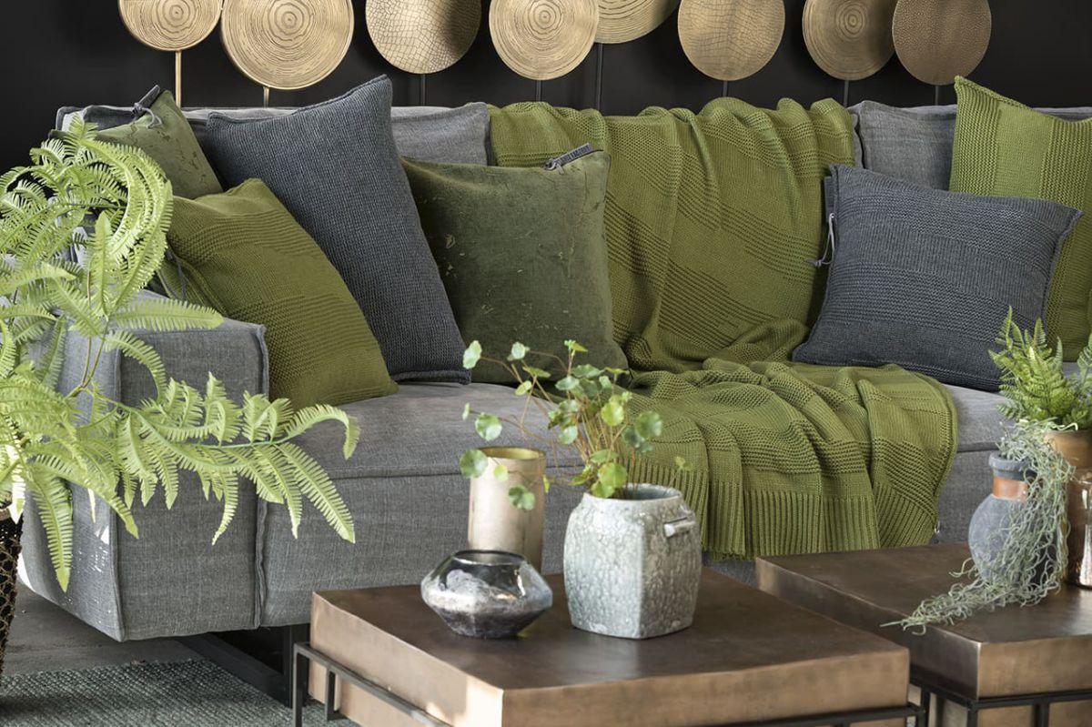 knit factory 1431115 joly plaid mosgroen 2
