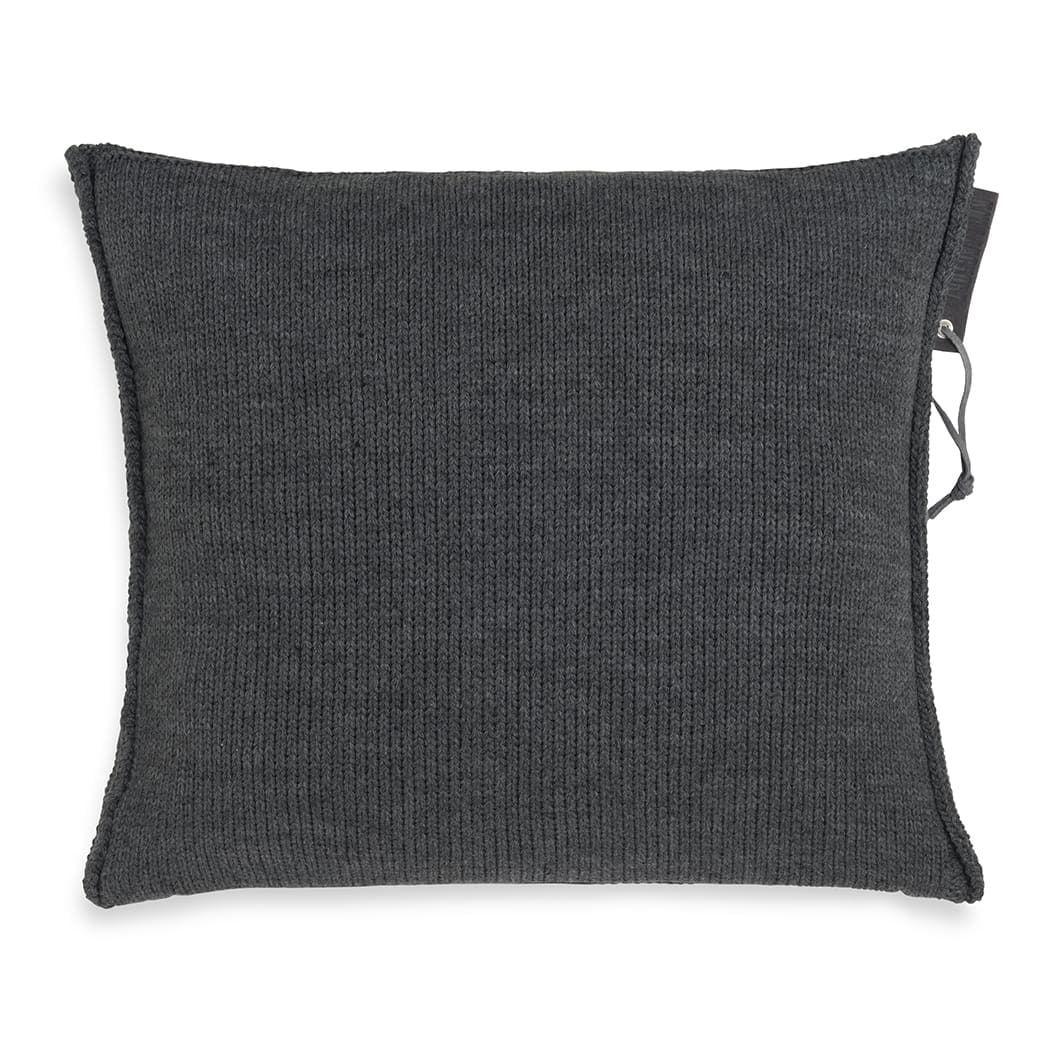 knit factory 1431210 joly kussen 50x50 antraciet 2