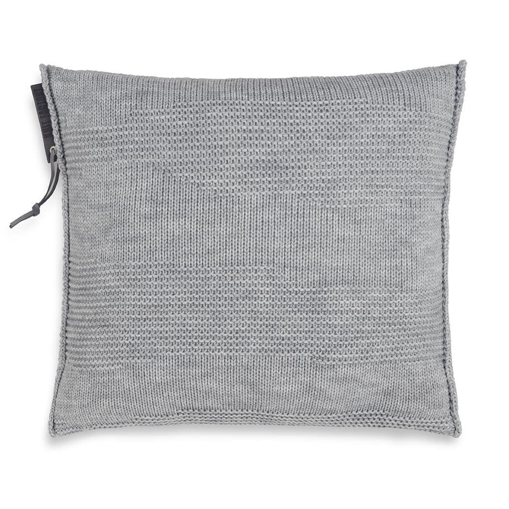 knit factory 1431211 joly kussen 50x50 licht grijs 1