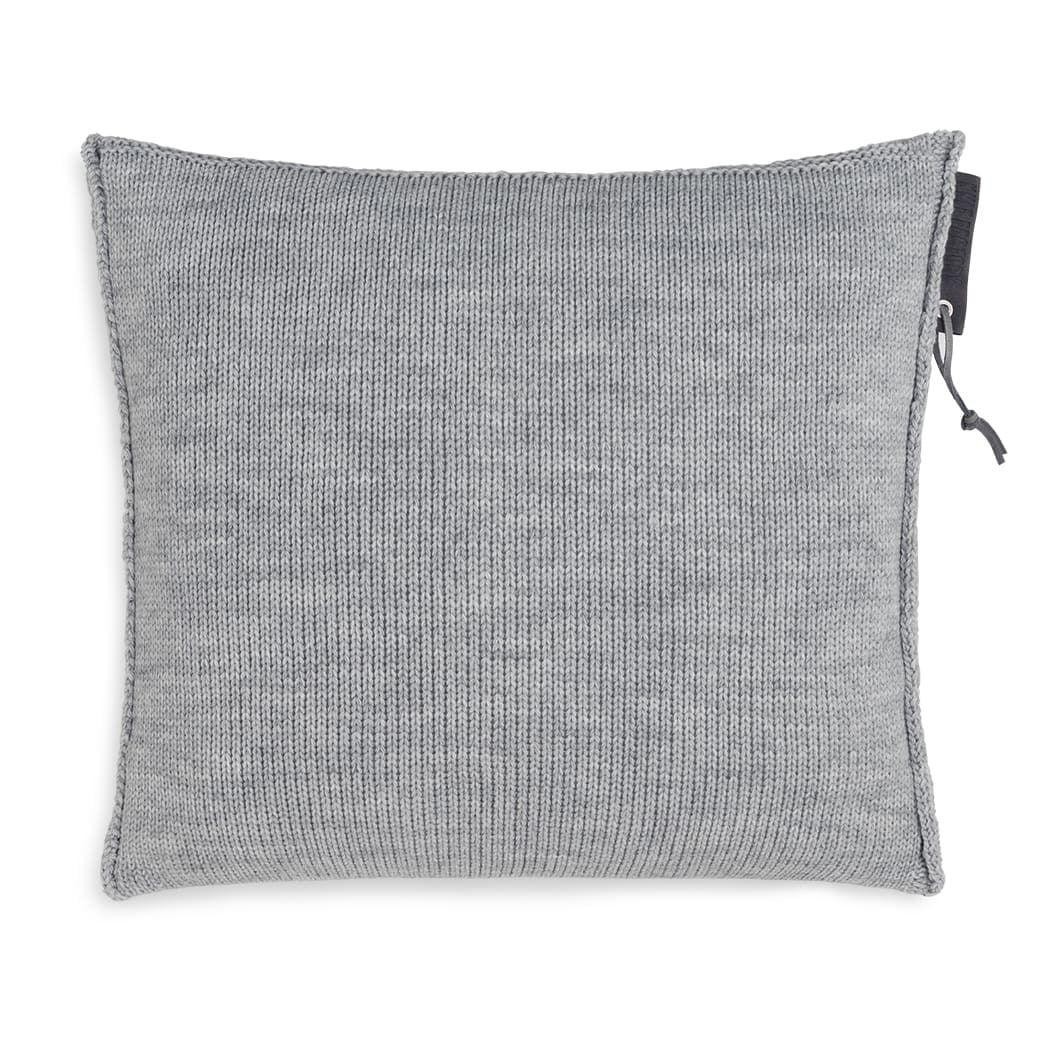 knit factory 1431211 joly kussen 50x50 licht grijs 2