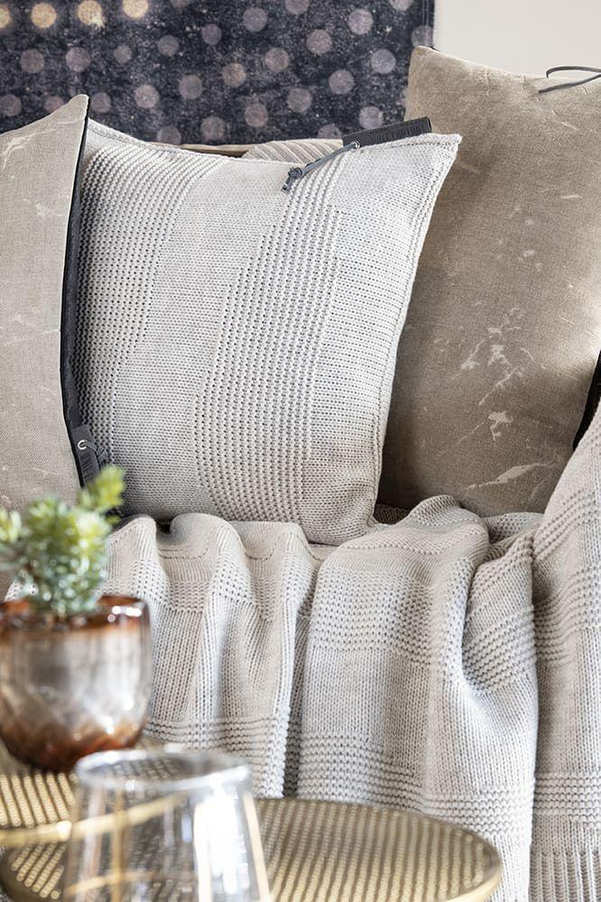knit factory 1431212 joly kussen 50x50 beige 3