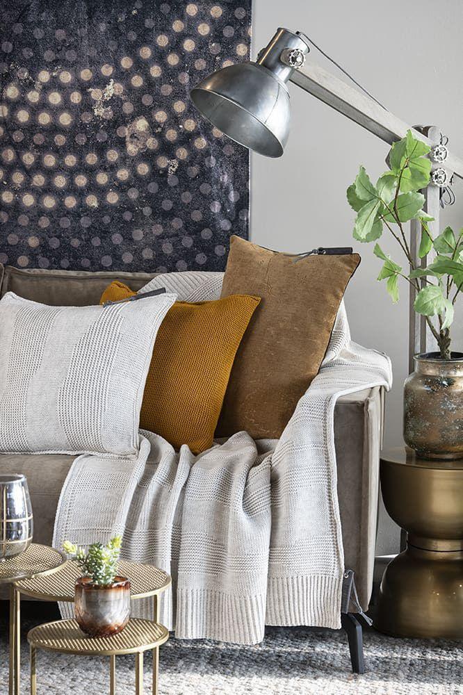 knit factory 1431212 joly kussen 50x50 beige 4