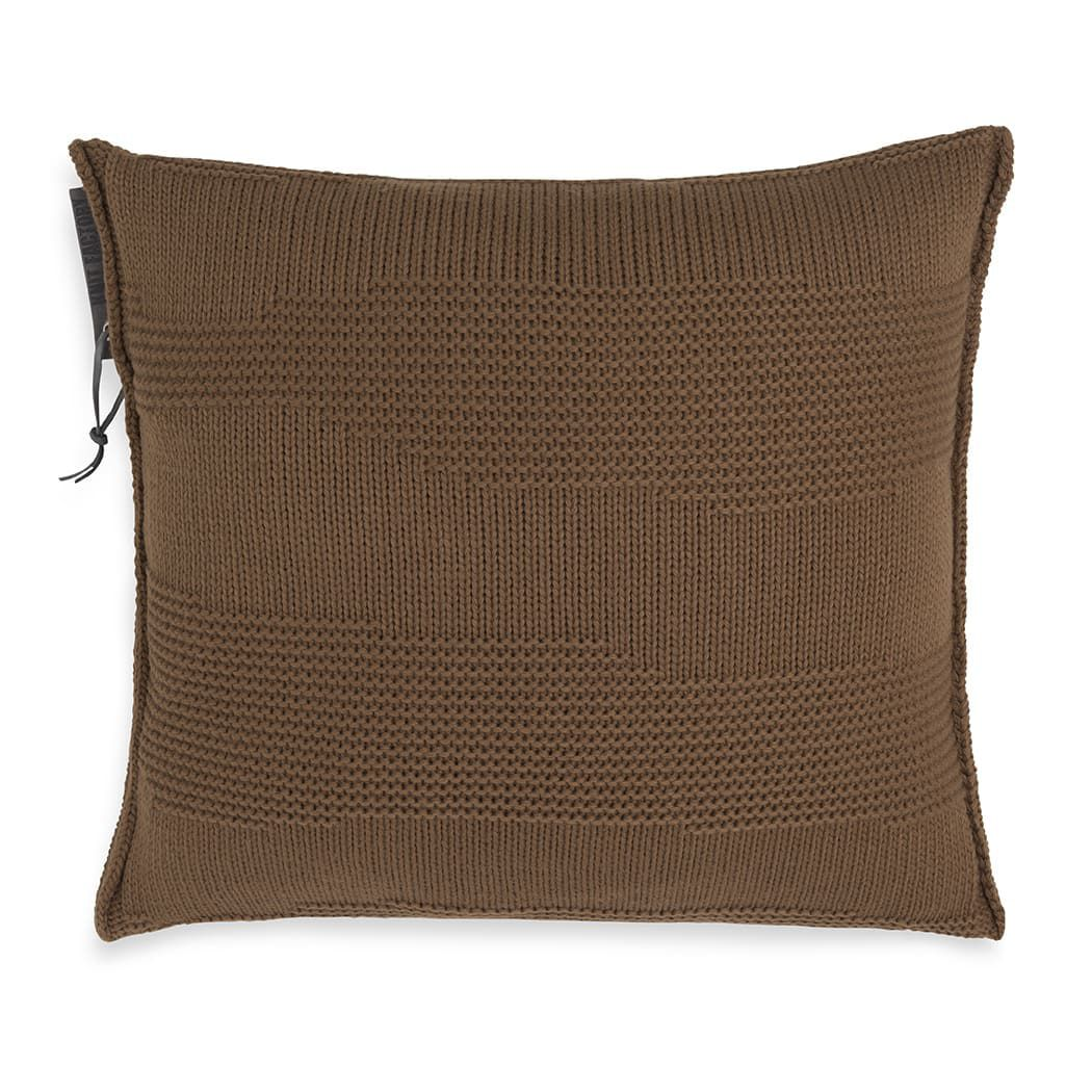 knit factory 1431235 joly kussen 50x50 tobacco 1